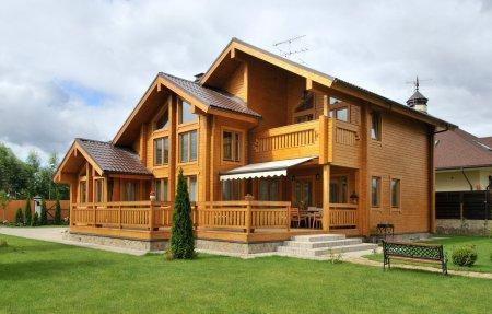 Дом из бруса или бревен