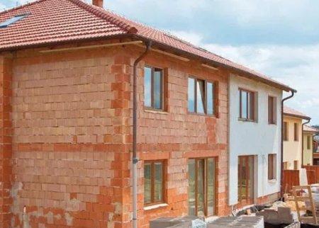 Дома из кирпича под – плюсы постройки