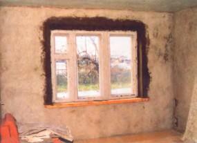 Как правильно штукатурить деревянные стены