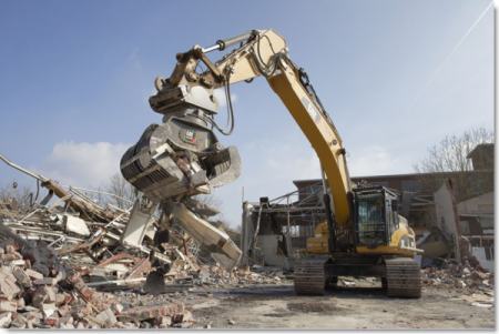 Как проводится демонтаж зданий