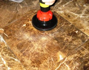 Как проводится полировка мрамора