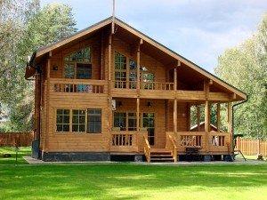 Как строятся деревянные дома из профилированного бруса