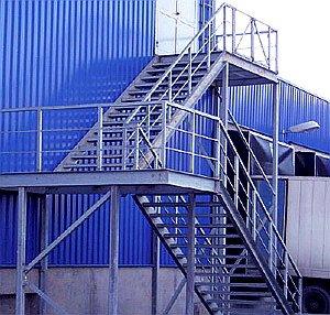 Как строятся пожарные лестницы