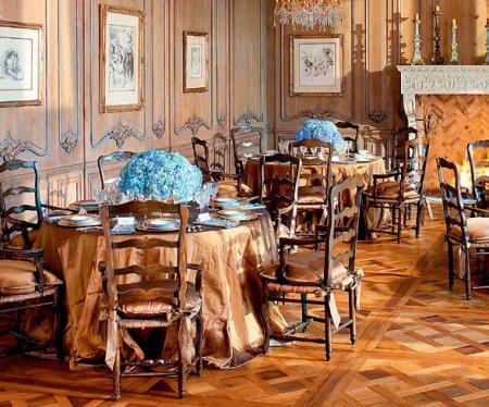 Какой интерьер выбрать для столовой дома