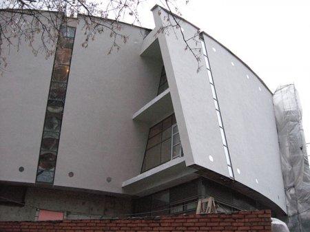 Криволинейные фасады