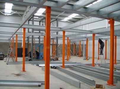 Мезонин для складского помещения