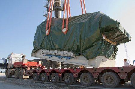 Перевозка грузов на стройплощадку