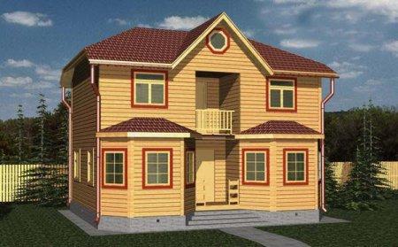 Прелести каркасных загородных домов