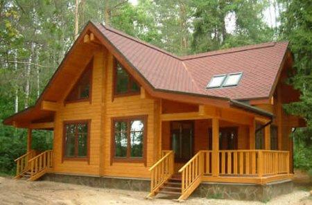 Самое благоприятное время для возведения домов из дерева