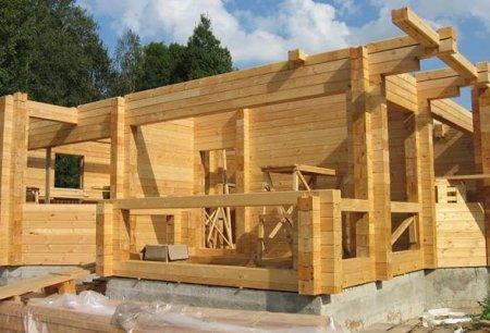 Способы изготовления современных домов из бруса