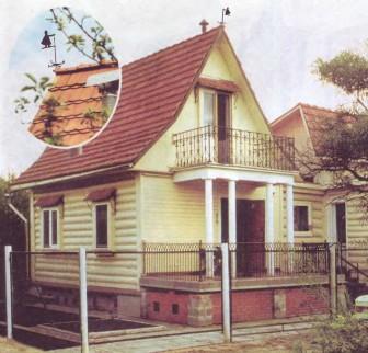 Строим дом в духе русской усадьбы