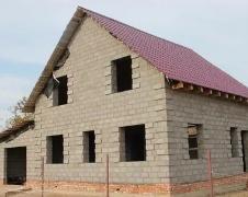 Строительство дома из керамзитоблоков в Тюмени