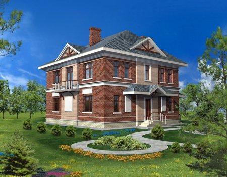 Строительство двухэтажных коттеджей