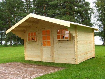 Строительство садового домика на дачном участке