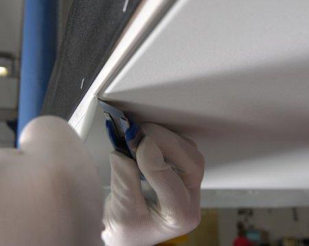 Технология монтажа тканевых натяжных потолков