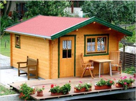 Выбор участка для возведения деревянного дома