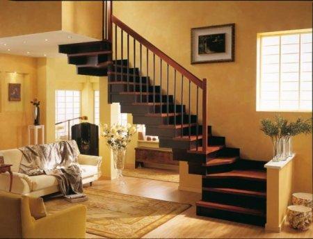 Виды конструкций лестницы