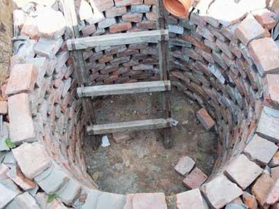 Виды сливных ям для канализации