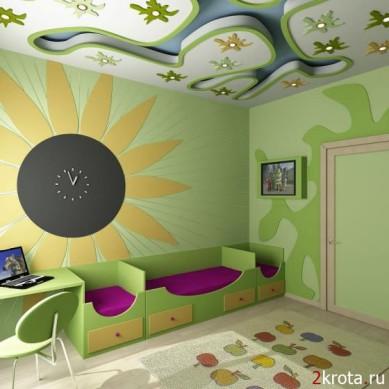 Как обустроить детскую комнату.