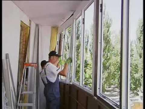 Как происходит остекление балконов?