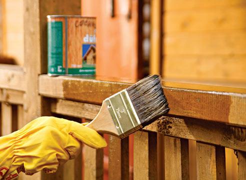 Как защитить деревянные конструкции бани