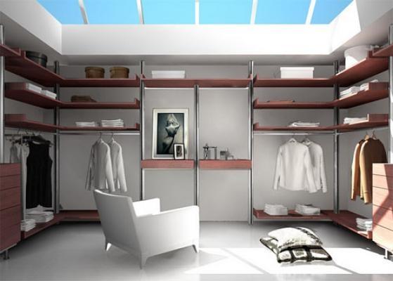 Какой должна быть гардеробная комната: планировка и комплектация