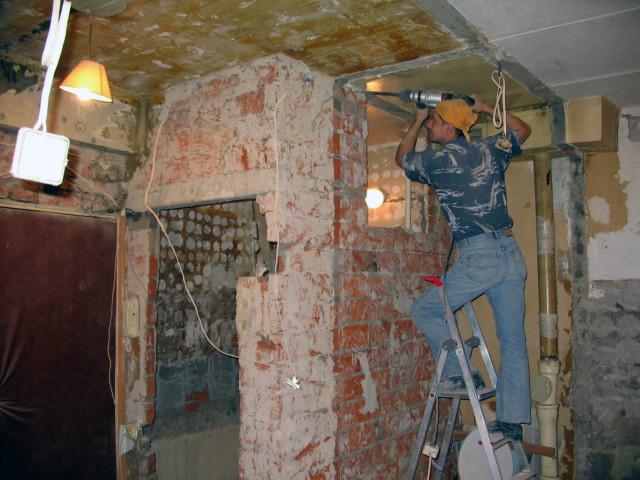 Капитальный ремонт в квартире.