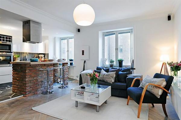 Комфортабельные квартиры-студии- бюджетный вариант для всех.