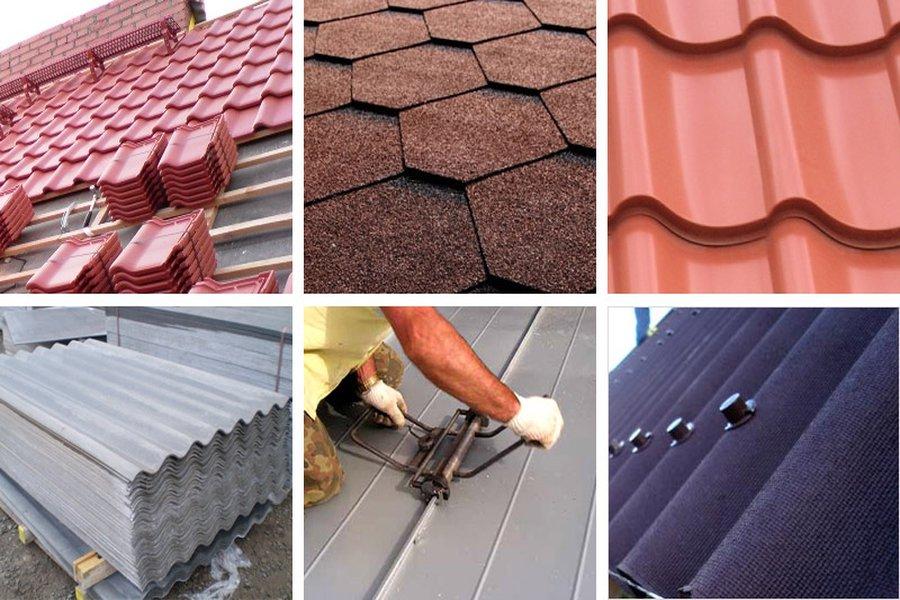Подбираем материалы для кровли крыши на даче