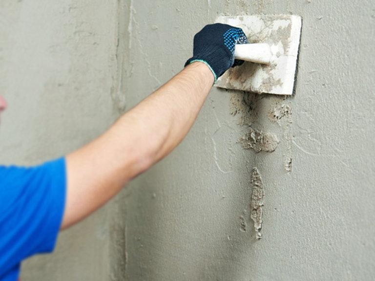 Как штукатурить стены песчано цементным раствором цена бетона 250