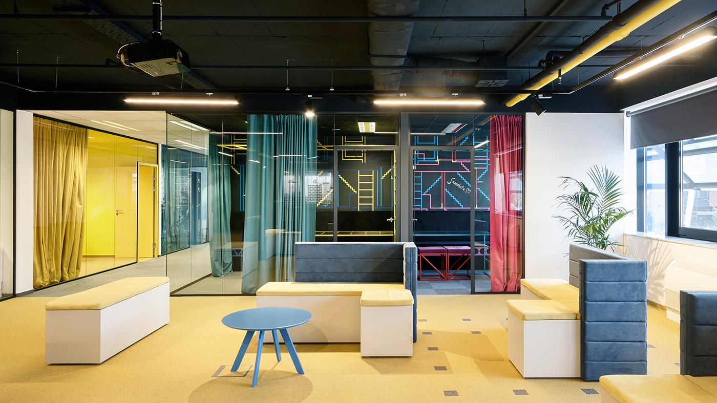 Качественный дизайн интерьера офиса