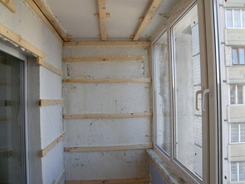 Инструкция по отделке балкона вагонкой своими руками