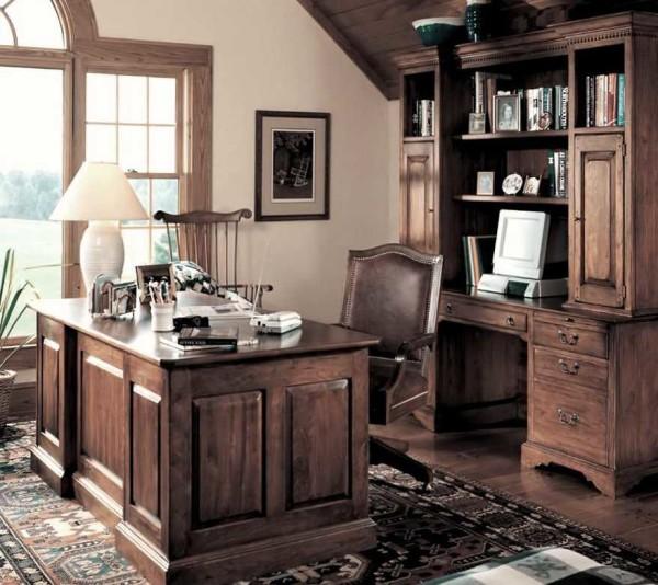 Интерьер кабинета в доме и квартире