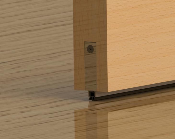 Как сделать порог входной двери в квартире своими силами
