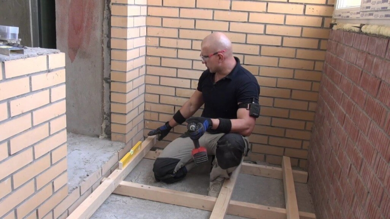 Инструкция для тех, кто решил изготовить пол на балконе своими руками