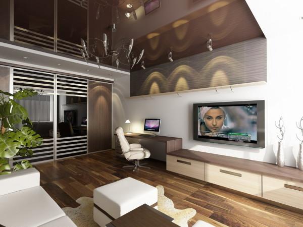 Интерьер однокомнатной квартиры: функционально и красиво