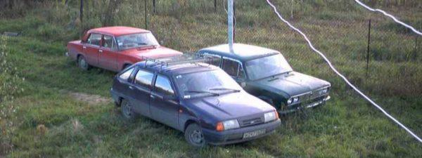 Площадка под автомобиль на даче — делаем стоянку своими руками
