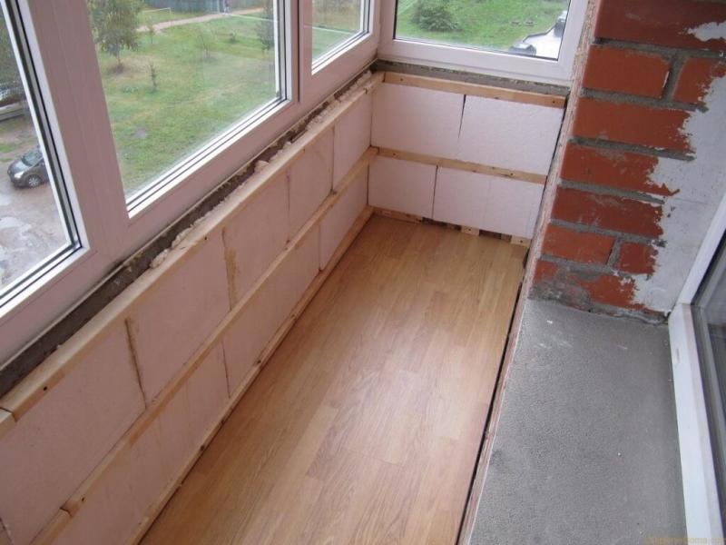 Балкон в хрущёвке своими руками: пошаговая инструкция